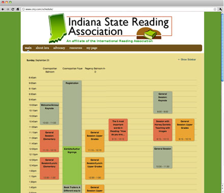 Indiana State Reading Association Fall Conference
